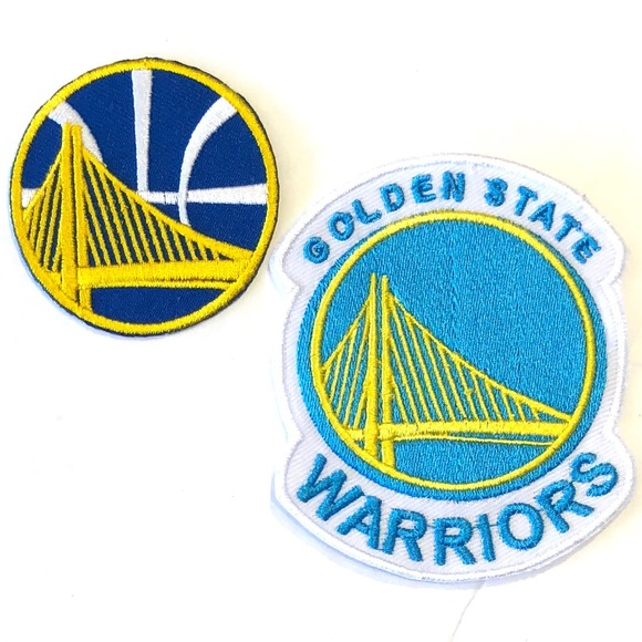 new concept d31dd 6c12b Golden State Warriors Patches, Iron On Patch, NBA